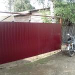 Ворота профнастил 4м высота 1,8м
