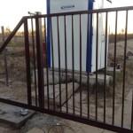 откатные ворота 1