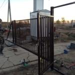 откатные ворота2