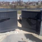 распашные ворота с авт